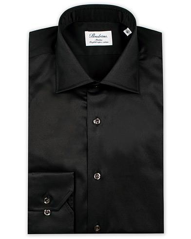 Stenströms Slimline Shirt Black