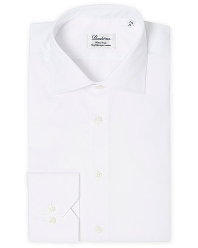 Stenströms Fitted Body Shirt White i gruppen Klær / Skjorter / Formelle / Businesskjorter hos Care of Carl (12290811r)