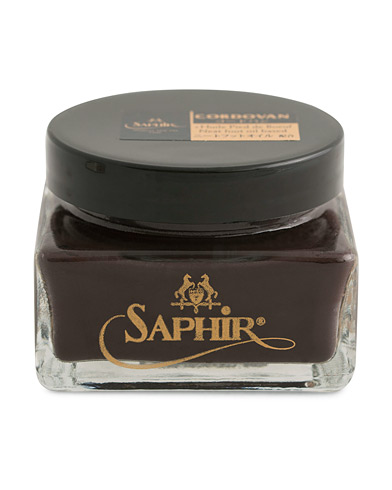 Saphir Medaille d'Or Cordovan Creme 75 ml Dark Brown  i gruppen Sko / Skopleie / Skopleieprodukter hos Care of Carl (12305310)