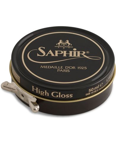 Saphir Medaille d'Or Pate De Lux 50 ml Dark Brown  i gruppen Sko / Skopleie / Skopleieprodukter hos Care of Carl (12306510)