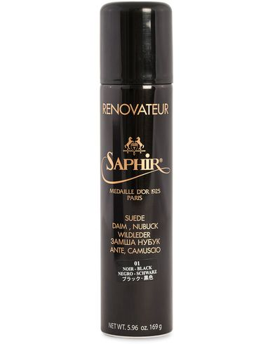 Saphir Medaille d'Or Renovateur Suede 250 ml Spray Black  i gruppen Sko / Skopleie / Skopleieprodukter hos Care of Carl (12308710)