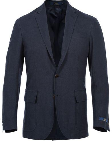 Polo Ralph Lauren Clothing Morgan Linen Blazer Navy