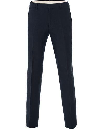 Polo Ralph Lauren Clothing Linen Trousers Navy