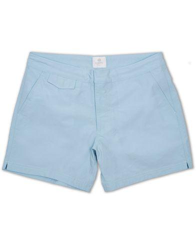 Sunspel Swim Shorts Sky Blue