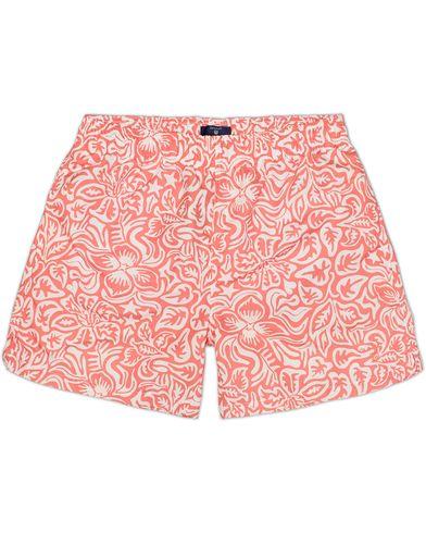 GANT Beach Club Swim Shorts Papaya