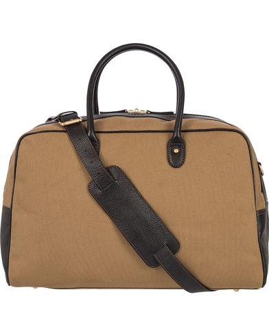 Baron Travel Bag Khaki Canvas