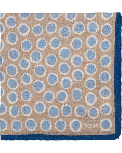 Roda Handkerchief Dot Khaki