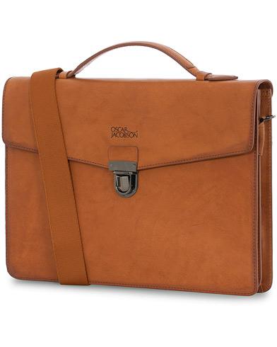 Oscar Jacobson Leather Briefcase 13''