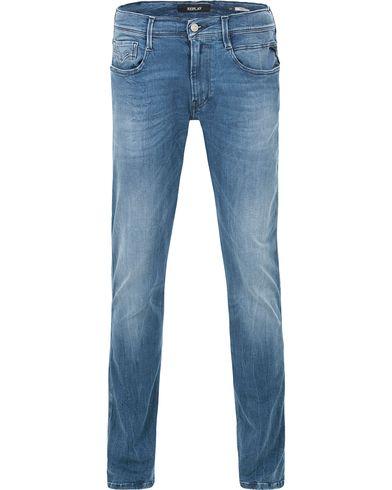 Replay M914 Anbass Hyperflex Jeans Light Blue