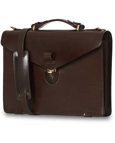 Tärnsjö Garveri TG1873 Briefcase Dark Brown