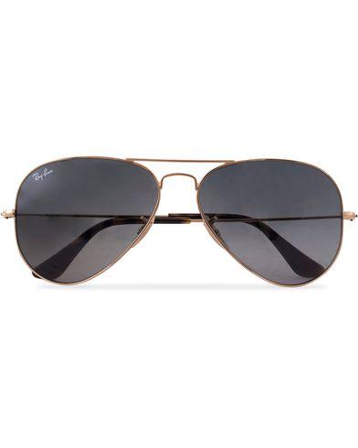 Ray-Ban 0RB3025 Aviator Sunglasses Gold/Grey