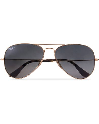 Ray-Ban 0RB3025 Aviator Sunglasses Gold/Grey  i gruppen Assesoarer / Solbriller / Pilotsolbriller hos Care of Carl (12668810)