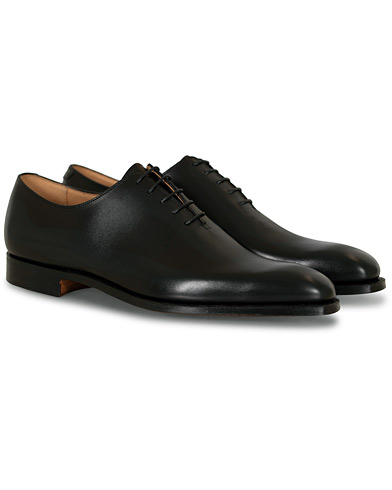 Crockett & Jones Alex Wholecut Oxford Black Calf i gruppen Sko / Oxfords hos Care of Carl (12681311r)