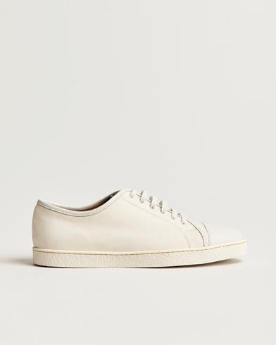 John Lobb Levah Sneaker White Nubuck