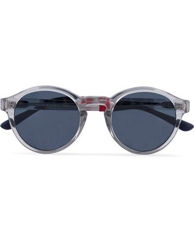 Orlebar Brown OB6C3SUN Sunglasses Clear/Dark Blue
