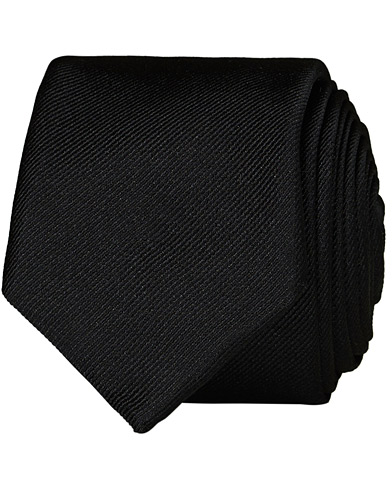 BOSS Silk 6 cm Tie Black  i gruppen Assesoarer / Slips hos Care of Carl (12744110)