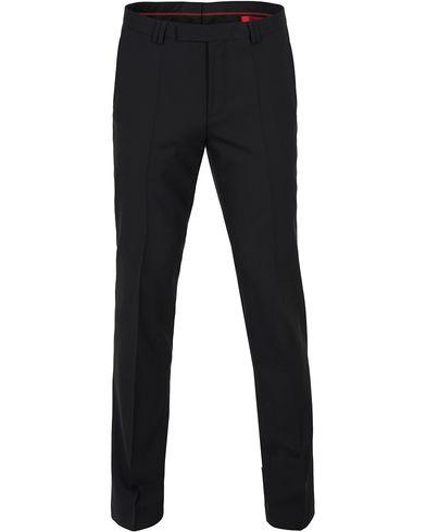 HUGO HopeS Stretch Wool Trousers Black