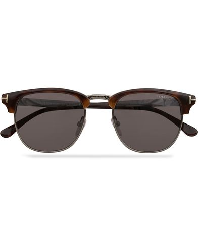 Tom Ford Henry FT0248 Sunglasses Havana  i gruppen Assesoarer / Solbriller / Buede solbriller hos Care of Carl (12746910)