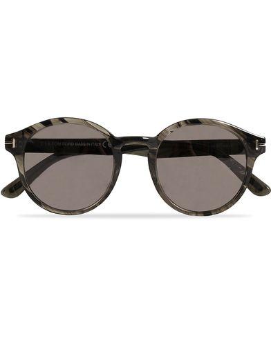 Tom Ford Lucho FT0400 Barberini Sunglasses Grey/Green