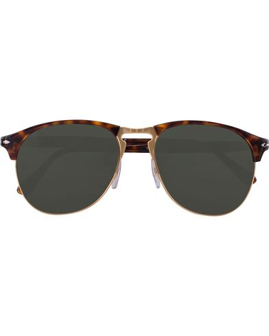 Persol 0PO8649S Sunglasses Havana/Green
