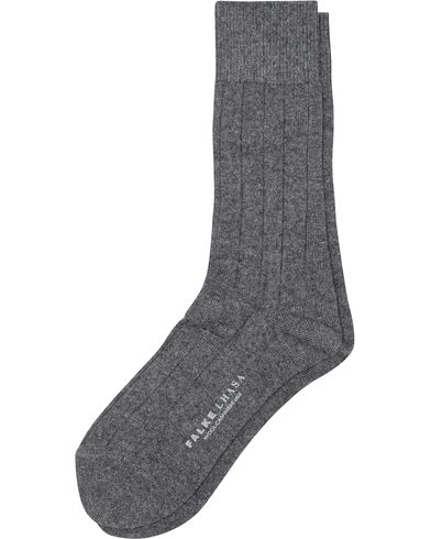 Falke Lhasa Cashmere Socks Light Grey i gruppen Klær / Undertøy / Sokker hos Care of Carl (13003411r)