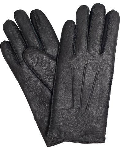 BOSS T-Hebis Lambskin Gloves Black