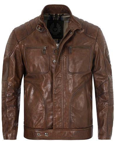 Belstaff Weybridge Leather Jacket Cognac