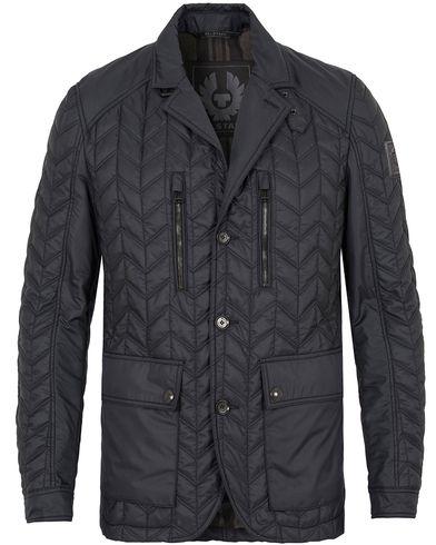 Belstaff Parkwood Quilt Blazer Jacket Navy