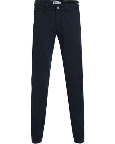 NN07 Marco 1200 Stretch Chinos Navy i gruppen Klær / Bukser / Chinos hos Care of Carl (13050111r)