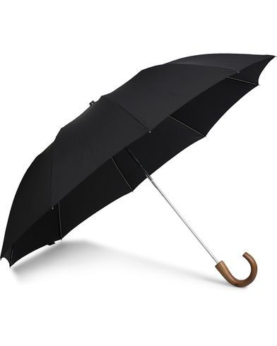 Fox Umbrellas Telescopic Umbrella Black  i gruppen Assesoarer / Paraplyer hos Care of Carl (13075610)
