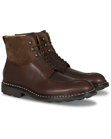Heschung Ginkgo Boot Moro Brown Calf/Brown i gruppen Sko / Støvler / Snørestøvler hos Care of Carl (13085011r)