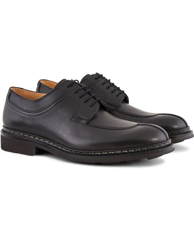 Heschung Catalpa Split Toe Derby Black Calf