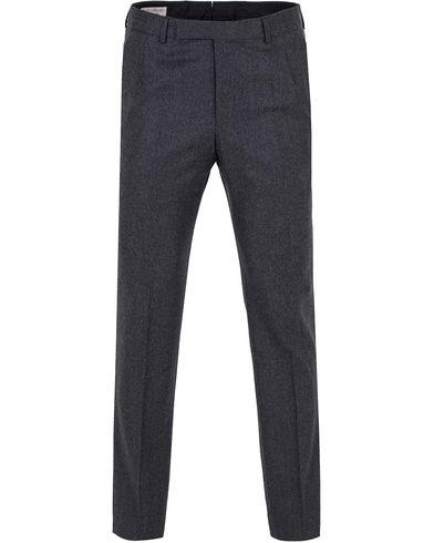 Gieves & Hawkes Light Flannel Trousers Charcoal