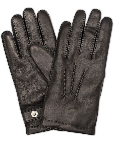 Dents The Heritage Collection Rushton Handsewn Hairsheep Glove Black