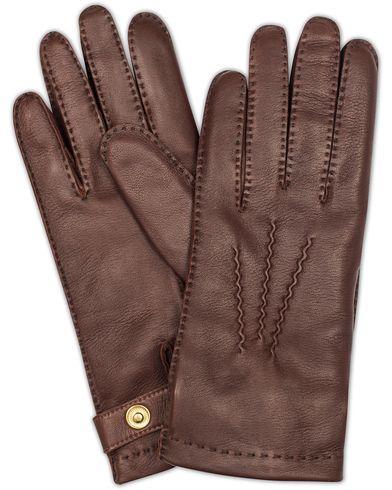 Dents The Heritage Collection Rushton Handsewn Hairsheep Glove English Tan