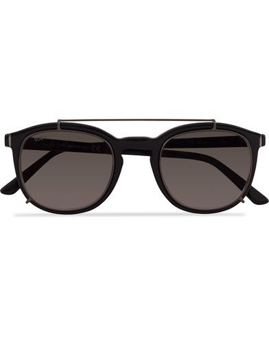 Tod's TO0181 Acetate Clip On Sunglasses Black