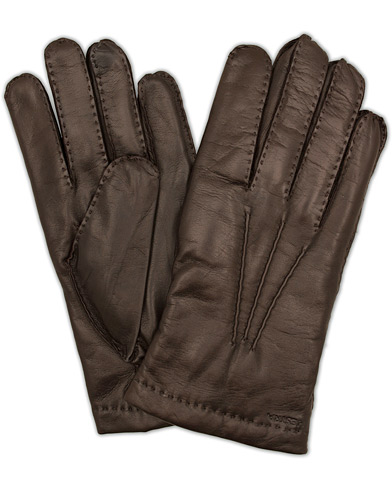 Hestra Edward Wool Liner Glove Espresso Brown i gruppen Assesoarer / Hansker hos Care of Carl (13136711r)