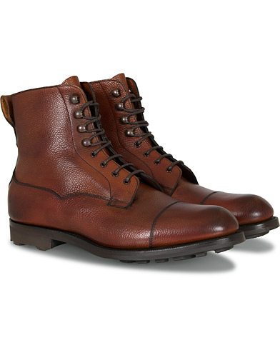 Edward Green Galway Ridgeway Boot Rosewood Country Calf i gruppen Sko / Støvler / Snørestøvler hos Care of Carl (13142111r)