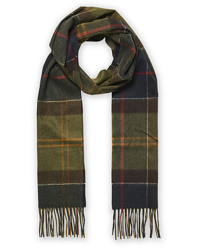 Barbour Lifestyle Cashmere Tartan Scarf Classic  i gruppen Assesoarer / Skjerf hos Care of Carl (13149010)