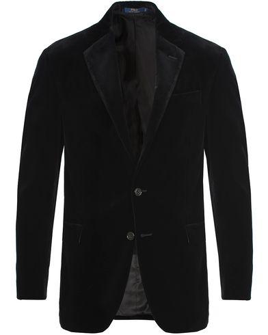 Polo Ralph Lauren Clothing Velvet Blazer Black