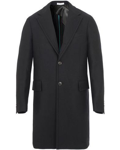 Boglioli Cappotto Wool Coat Black