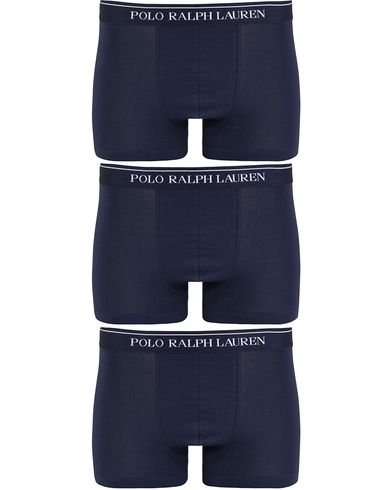 Polo Ralph Lauren 3-Pack Trunk Navy i gruppen Klær / Undertøy / Underbukser / Boksershorts hos Care of Carl (13180511r)