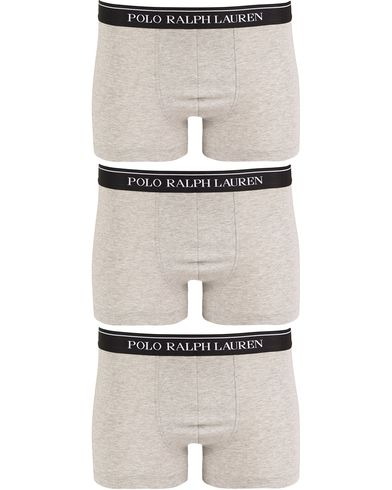 Polo Ralph Lauren 3-Pack Trunk Andover Heather Grey i gruppen Klær / Undertøy / Underbukser / Boksershorts hos Care of Carl (13180611r)
