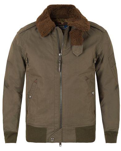 Polo Ralph Lauren Nylon Down Bomber Jacket Old Money