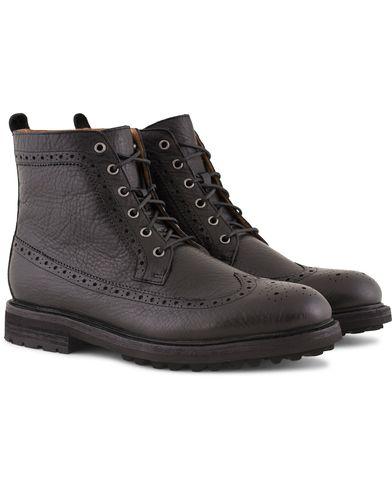 Polo Ralph Lauren Nickson Brogue Boot Black