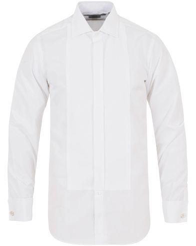 Turnbull & Asser Slim Fit Tuxedo Shirt White