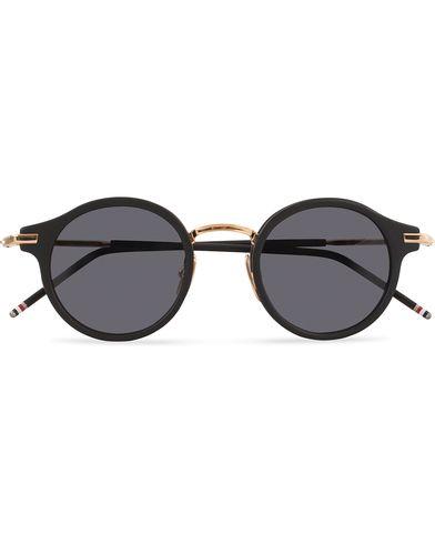 Thom Browne TB-807 Sunglasses Matte Black/Dark Grey