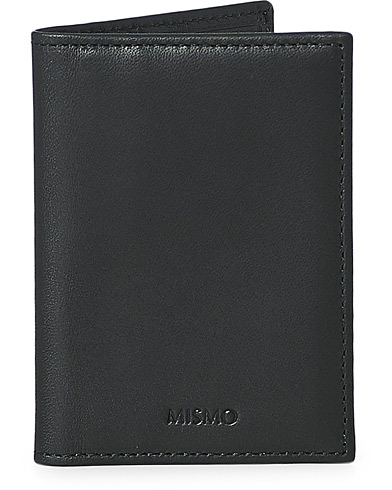 Mismo Cards Leather Cardholder Black  i gruppen Assesoarer / Lommebøker / Vanlige lommebøker hos Care of Carl (13243010)