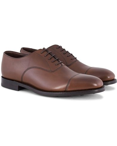 Loake 1880 Aldwych Oxford Single Danite Dark Brown Calf