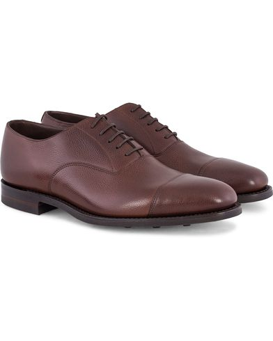 Loake 1880 MTO Aldwych Oxford Single Danite Brown Grain Calf